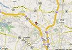 Map of Travelodge Atlanta North Kennesaw, Kennesaw