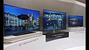 World's First Curved and Flexible 4K OLED TV [New LG 3D ...