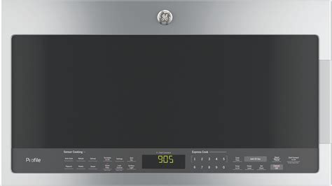 ge pvmsjss cu ft range microwave oven chef
