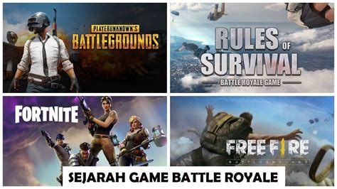 sejarah game battle royale hz pubg fortnite