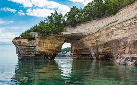 Best Boat Tours Of Pictured Rocks by The Best National Parks In Michigan Travel Leisure