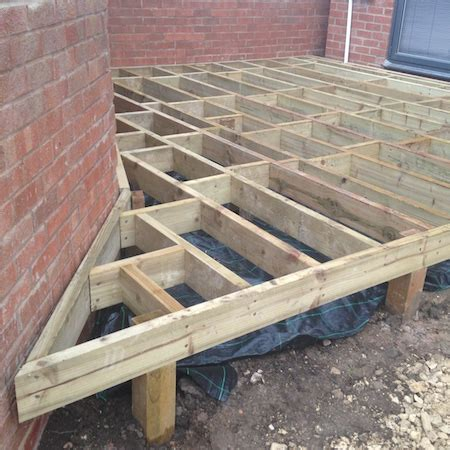 Composite Decking York  Paul Cox Landscaping