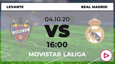 Levante-Real Madrid: horario y dónde ver la Liga Santander ...