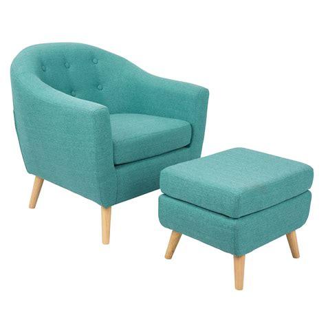 modern chair and ottoman radbury teal modern chair ottoman eurway
