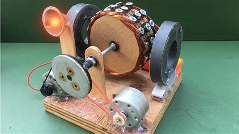 Electric Motor Experiment by How To Make Free Energy Generator Using Powerful Dc Motor