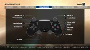 Button Layout And Controls For Madden 18  Ps4