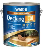 wattyl weathergard decking oil