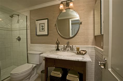 Bathroom Wall Covering Ideas by Seagrass Wallpaper In Bathroom 2017 Grasscloth Wallpaper