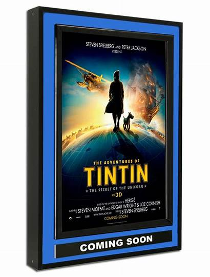Halolite Poster Display Series Theater Marquee Displays