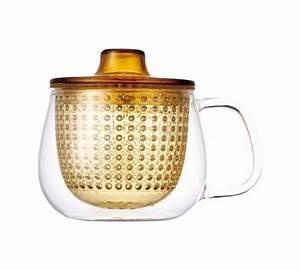 Mug Infuseur Thé : mug kinto unimug infuseur th jaune 35cl ~ Teatrodelosmanantiales.com Idées de Décoration