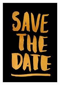 Save The Date Postkarten : save the date golddruck spr che zitate echte ~ Watch28wear.com Haus und Dekorationen