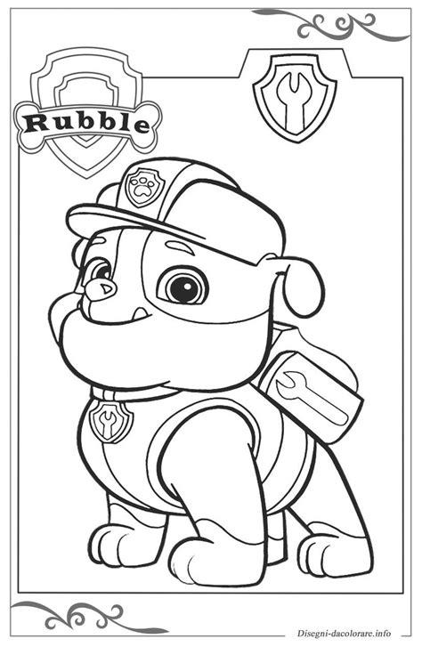 disegni da colorare paw patrol paw patrol disegni da colorare per ragazzi gratis