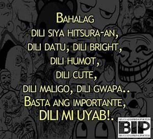 funny bisdak ca... Bisaya Badtrip Quotes
