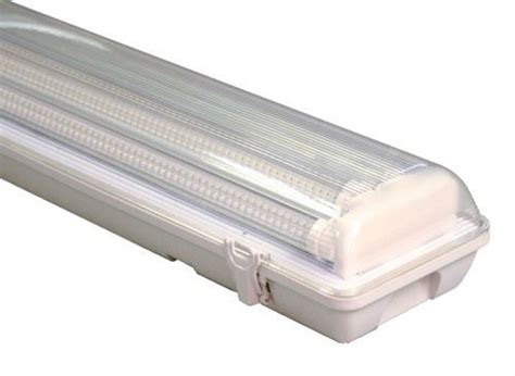 t8 lighting fixture tri proof ip65 linkable 1x18w 2x18w
