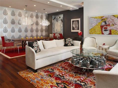 color theory  living room design hgtv