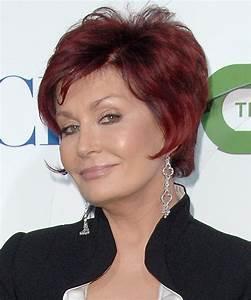 Sharon Osbourne Short Straight Formal Hairstyle Light