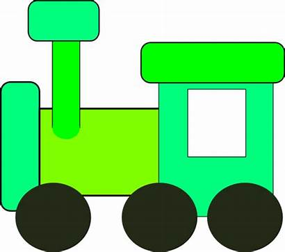 Train Clipart Clip Yellow Subway Carriage Cliparts
