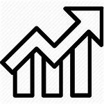 Growth Icon Chart Business Graph Increasing Icons