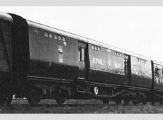 Bluebell Railway Carriages – SR Travelling Post Office 4922