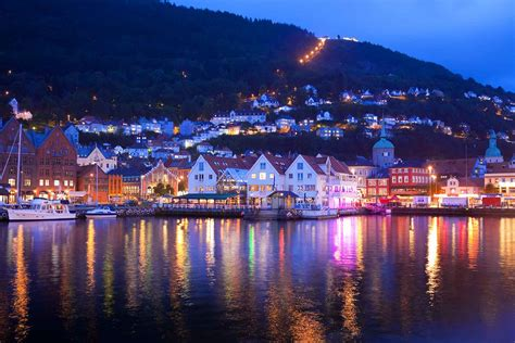 norwegian midnight sun motorcycle   europe