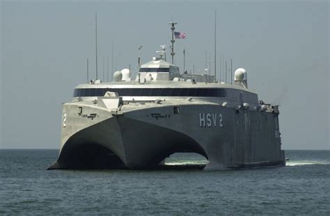 High Speed Vessel (hsv) / Theater Support Vessel (tsv) Actd