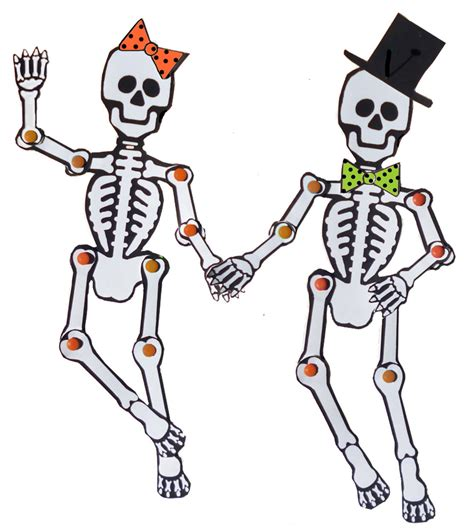 skeleton template page 2 multicultural day of the dead