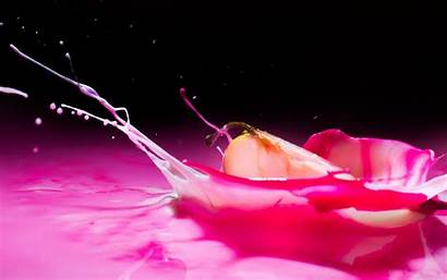 Pink Liquid Splash Wallpapers Apple Chill Backgrounds