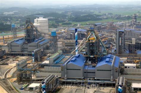 Hyundai Steel Company by Hyundai Engineering Hyundai Steel S Dangjin Plant Brings