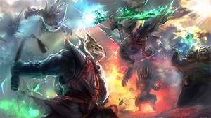 The Clash Improved By TrungTH Fanart DotA2