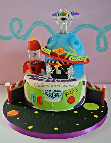 buzz lightyear pizza planet cake cakecentralcom
