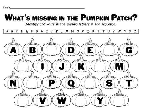 missing letters   pumpkin patch printable alphabet