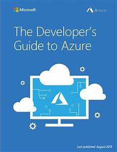The Developer U2019s Guide To Microsoft Azure Ebook