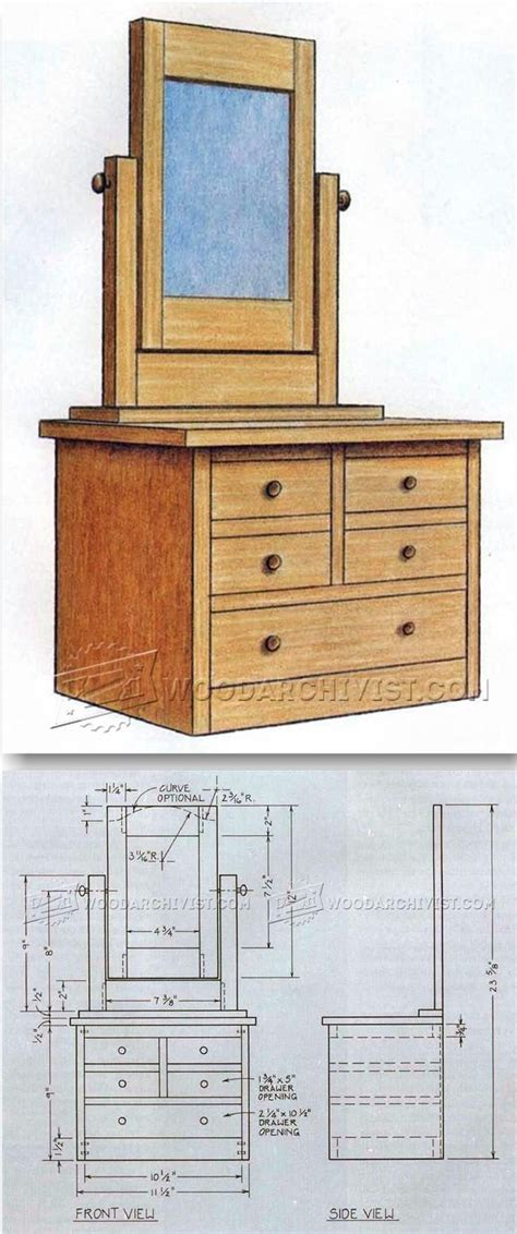 dresser plans ideas  pinterest
