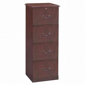 4 drawer vertical wood file cabinet smileydotus With document drawer cabinet