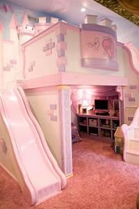 Girls Pink Bedroom - Interior Paint Colors Bedroom ...