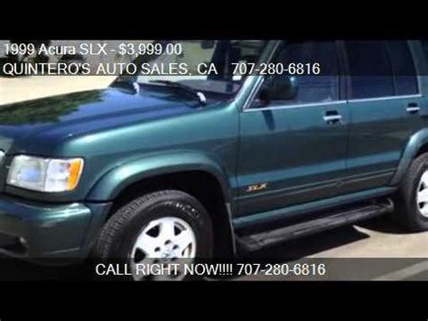Acura Slx For Sale by 1999 Acura Slx Suv For Sale In Vacaville Ca 95688