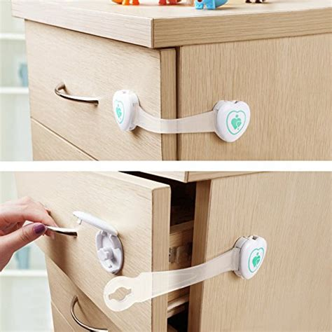 baby safety cabinet and drawer latches baby mate 12 pcs baby safety cabinet and drawer latches