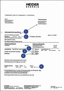 Abschlagszahlung Rechnung Muster : heider energie energieversorgung ~ Themetempest.com Abrechnung