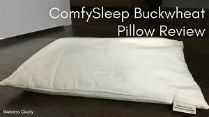 Comfysleep buckwheat pillow review youtube for Buckwheat pillow review