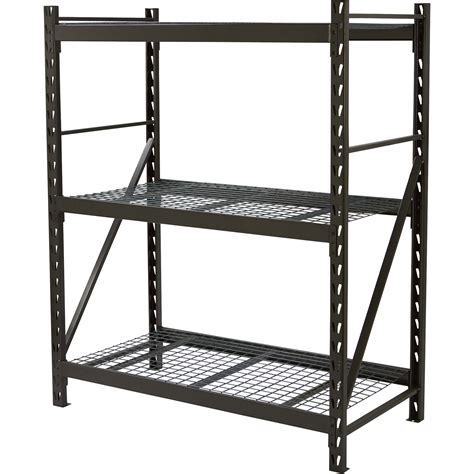 Strongway Steel Shelving — 60inw X 30ind X 72inh, 3