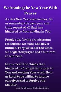 Prayer to Welco... New Year Pray Quotes