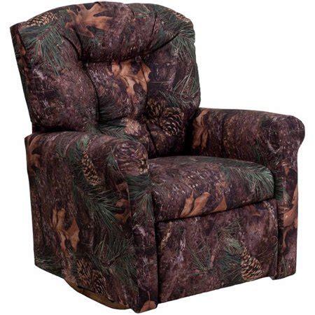 walmart camo recliner camouflage fabric rocker recliner walmart