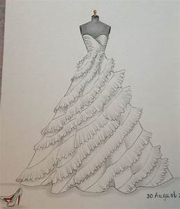 463 best gown illustrations images on pinterest the With how to draw a wedding dress
