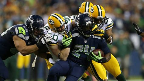 game nfl  seattle seahawks  green bay packers
