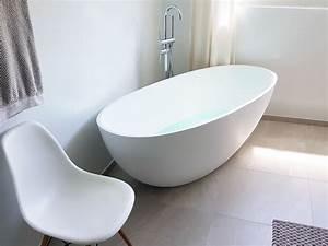 Moderne Freistehende Badewannen : piemont freistehende mineralguss badewanne wei matt oder gl nzend 180x80x60 oval ei ~ Sanjose-hotels-ca.com Haus und Dekorationen