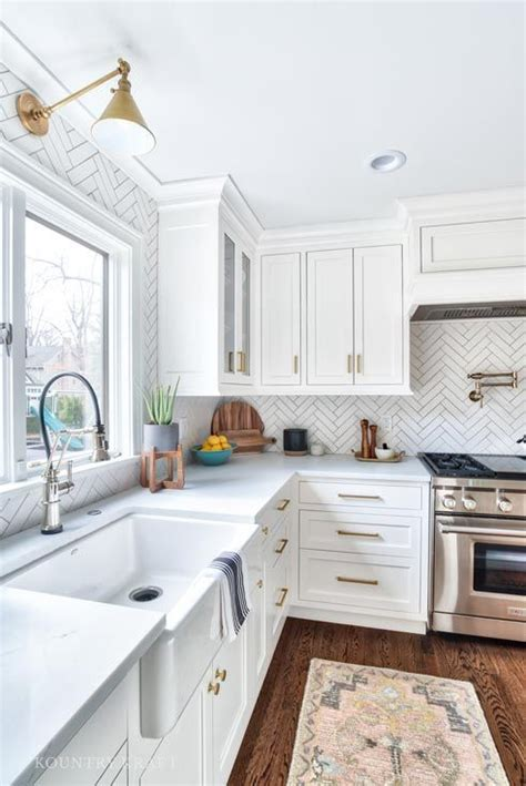 fascinating ideas  practical  shaped kitchen