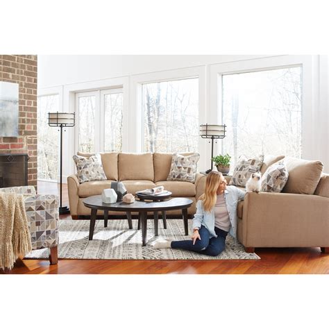 Lazboy Amy 610622 Casual Sofa With Premier Comfortcore