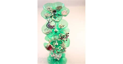 plastic bottle jewelry stand cool upcycling projects