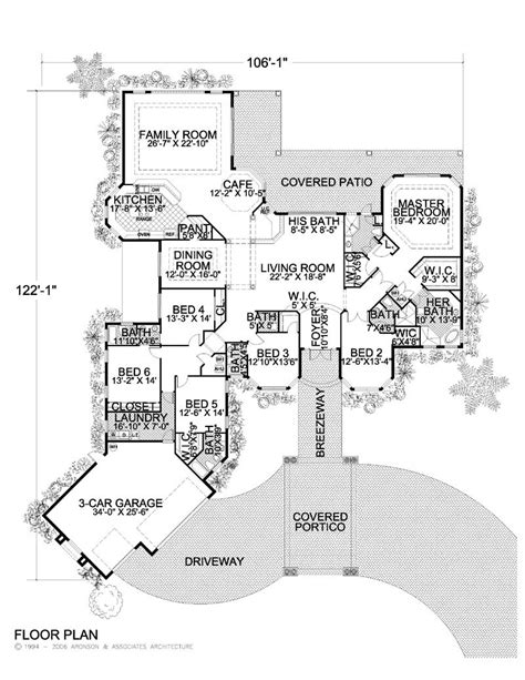 large one story floor plans click thumbnail image for