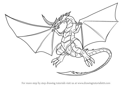 learn   draw dragonoid  bakugan battle brawlers